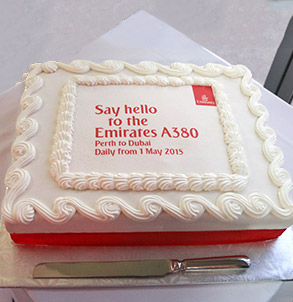 corporate cake delivery